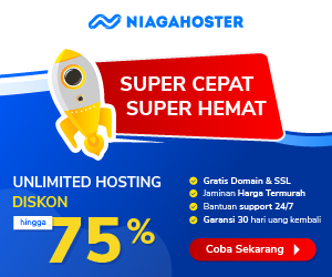 Plus 5% Off + Off Hosting NiagaHoster